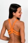 Haut de maillot de bain Brassière Solid Naranja Bako