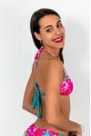 Haut de maillot de bain Triangle Flowers Bic