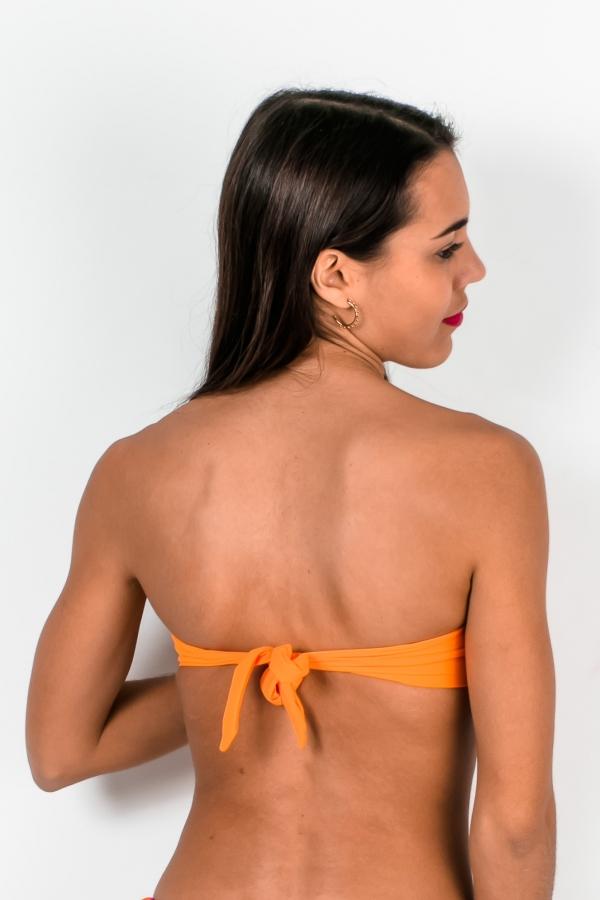 Maillot de bain Bandeau Emmatika Jungle Twist Orange