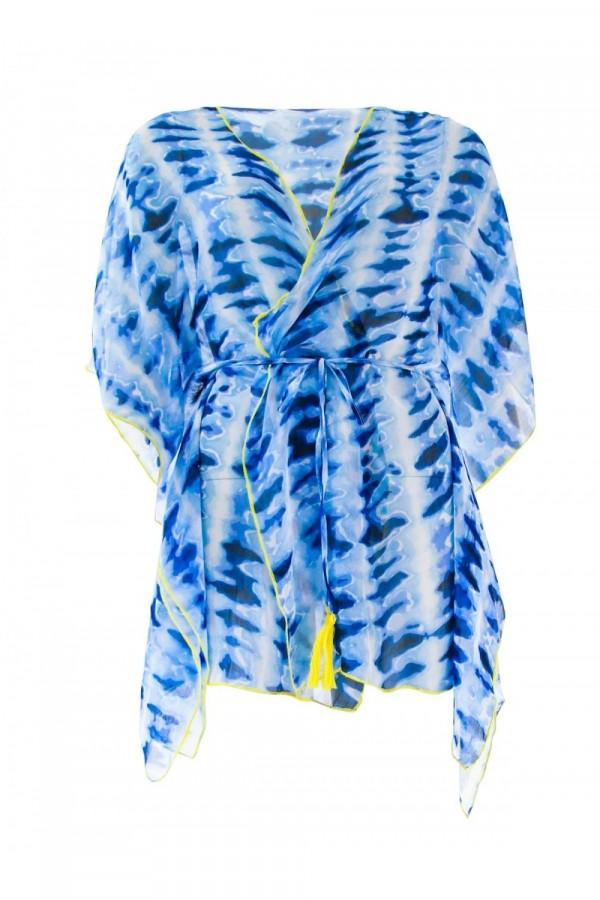 Tunique Emmatika Odisha Bleu