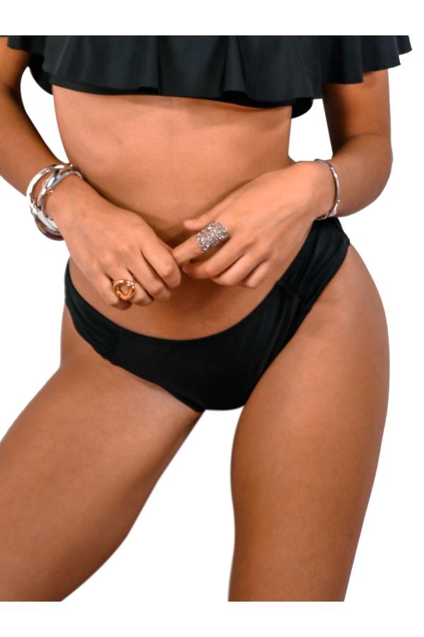 Bas de maillot de bain Culotte Emmatika Nero Noir