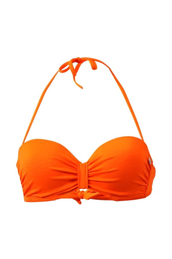 Maillot de bain Emmatika Bandeau Solid Naranja Aimo Orange