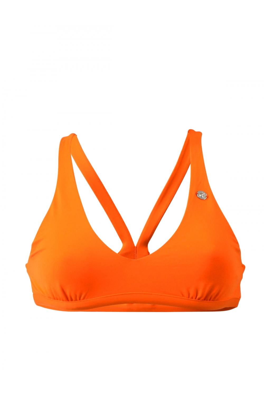 Maillot de bain Emmatika Brassière Solid Naranja Bako Orange