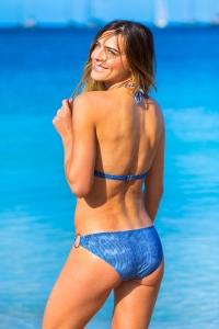 Maillot de bain Trikini Emmatika Denim Triki Bleu