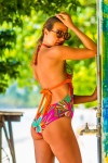 Maillot de bain 1 Pièce Emmatika Jungle Tri Multicolore