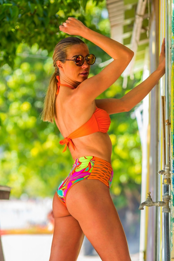 Maillot de bain Bandeau Emmatika Jungle Twist Orange