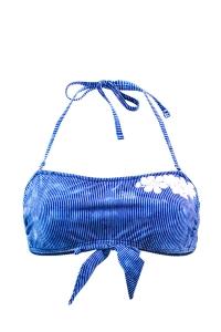 Maillot de bain Bandeau Emmatika Denim Bando Bleu